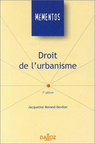 Download Droit de l'urbanisme