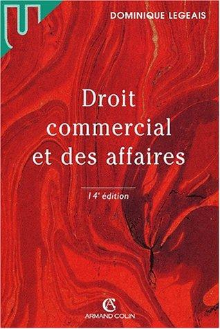 Download Droit commercial et des affaires