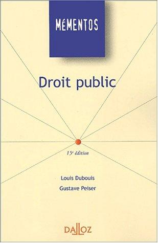 Download Droit public