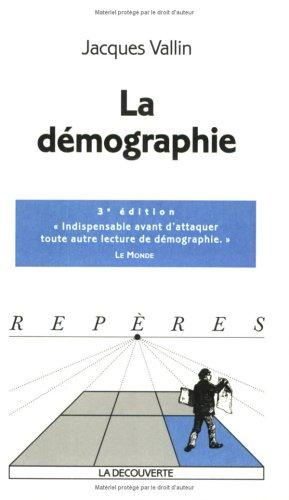 La Démographie by Jacques Vallin