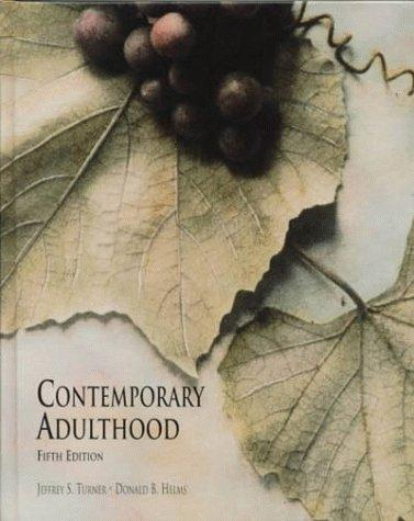 Download Contemporary adulthood