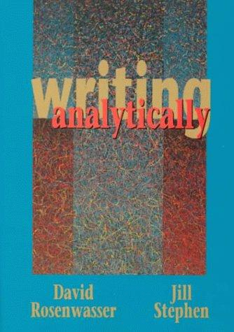 Download Writing analytically
