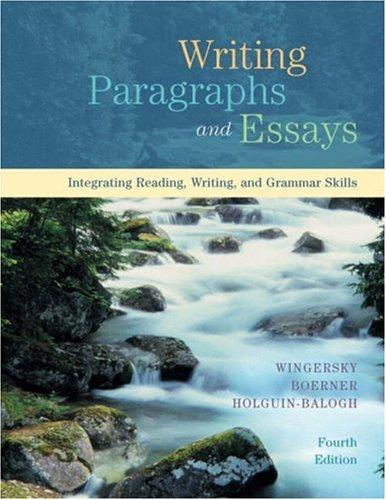 Download Writing paragraphs and essays