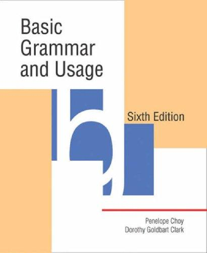 Download Basic grammar and usage