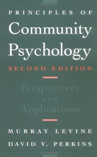 Download Principles of community psychology