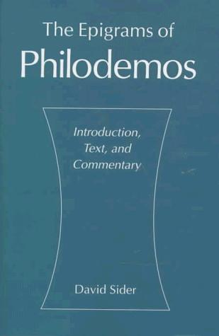Download The epigrams of Philodemos