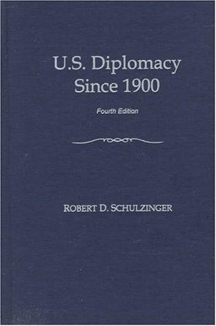 Download U.S. diplomacy since 1900