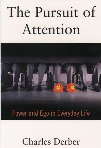 Download The pursuit of attention