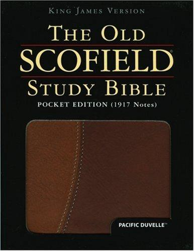 The Old ScofieldRG Study Bible, KJV, Pocket Edition