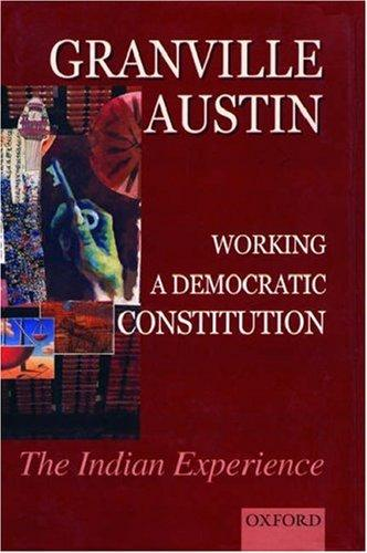 Download Working a democratic constitution