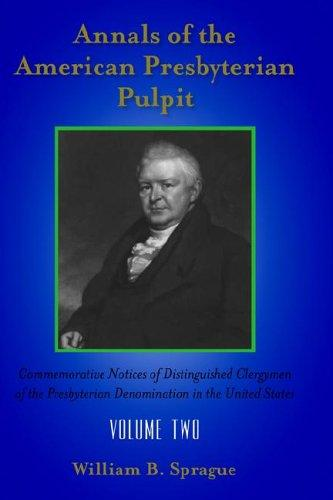 ANNALS OF THE PRESBYTERIAN PULPIT