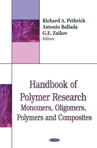 Download Handbook of Polymer Research