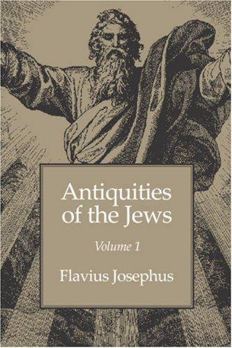 Download Antiquities of the Jews volume 1