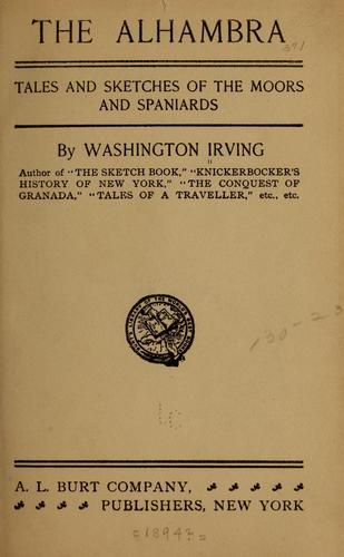 The Alhambra by Washington Irving