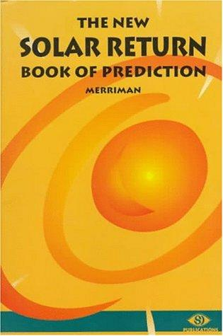 Image for The New Solar Return Book of Prediction(revised edition)