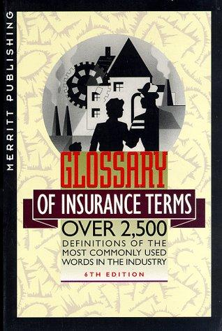 Download Glossary of Insurance Terms