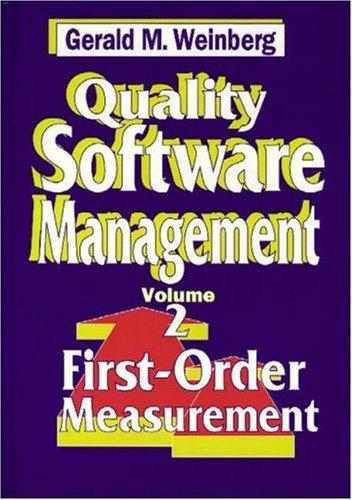 Download Quality Software Management