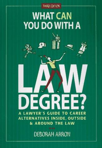 What can you do with a law degree?