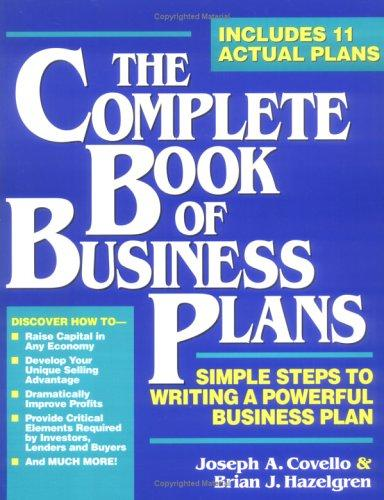 Download The complete book of business plans