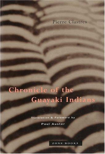 Download Chronicle of the Guayaki Indians