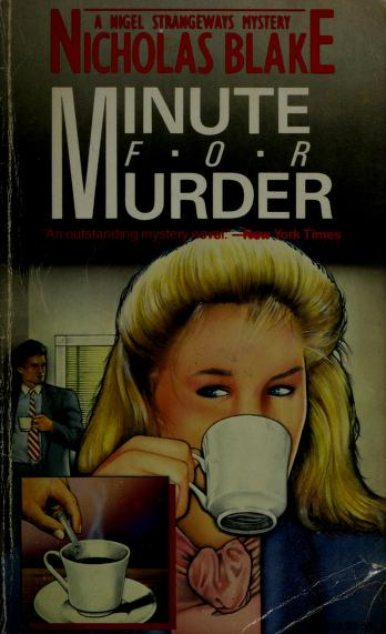 Cover of: Minute for murder | Nicholas Blake