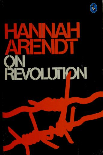 Cover of: On revolution | Hannah Arendt