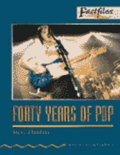 Oxford Bookworms Factfiles: Stage 2: 700 Headwords Forty Years of Pop Audio CD by Steve Flinders