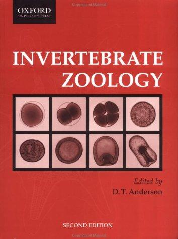 Invertebrate zoology by edited by D.T. Anderson.