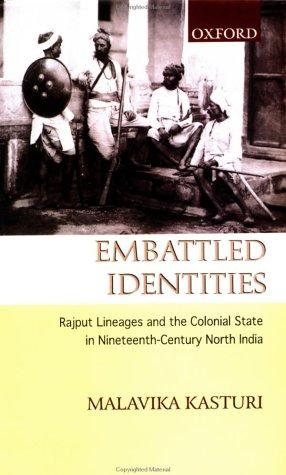Embattled identities by M. Kasturi