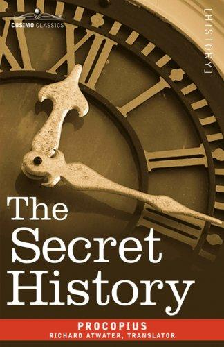 Secret history by Procopius