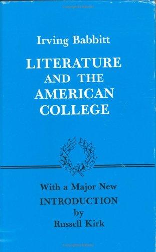 Literature and the American college